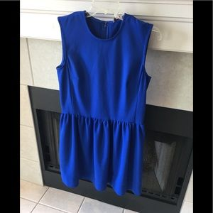 Beautiful blue fitted dress by GAP